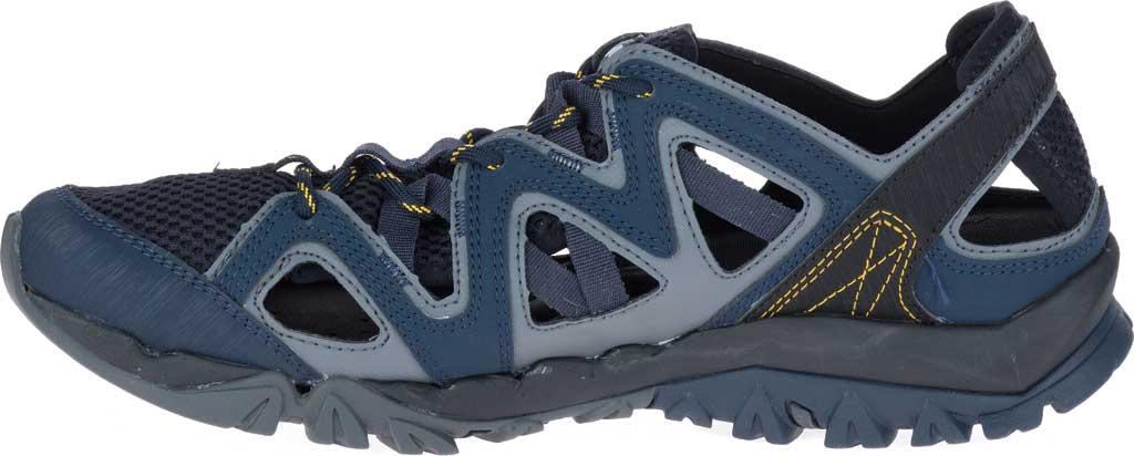 Men's Merrell Tetrex Crest Wrap Water Shoe, Navy Synthetic/Textile, large, image 3