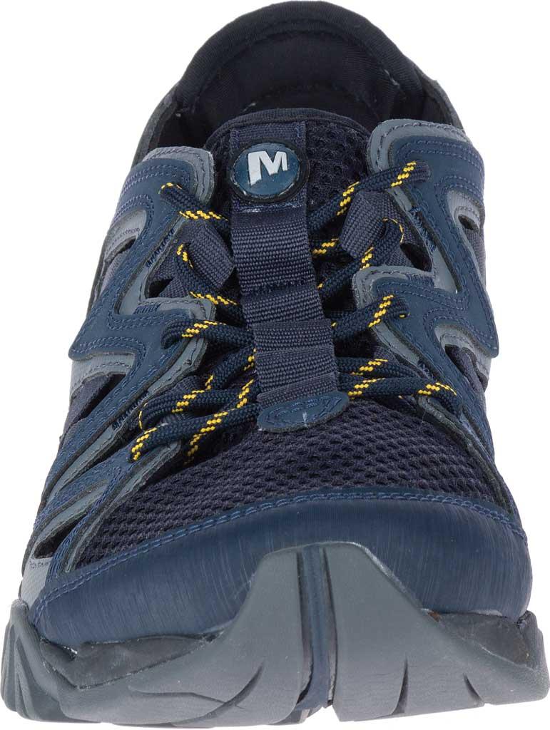 Men's Merrell Tetrex Crest Wrap Water Shoe, Navy Synthetic/Textile, large, image 4