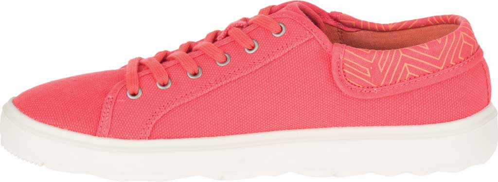 Women's Merrell Around Town City Canvas Sneaker, Hot Coral Canvas, large, image 3