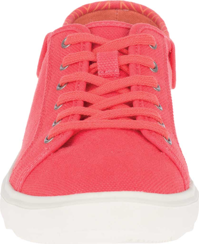 Women's Merrell Around Town City Canvas Sneaker, Hot Coral Canvas, large, image 4