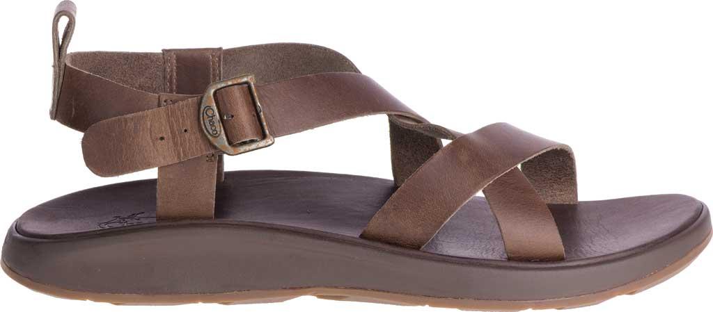 Men's Chaco Wayfarer Leather Sandal, Otter Full Grain Leather, large, image 2
