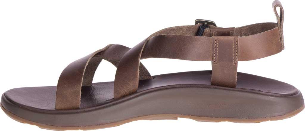 Men's Chaco Wayfarer Leather Sandal, Otter Full Grain Leather, large, image 3