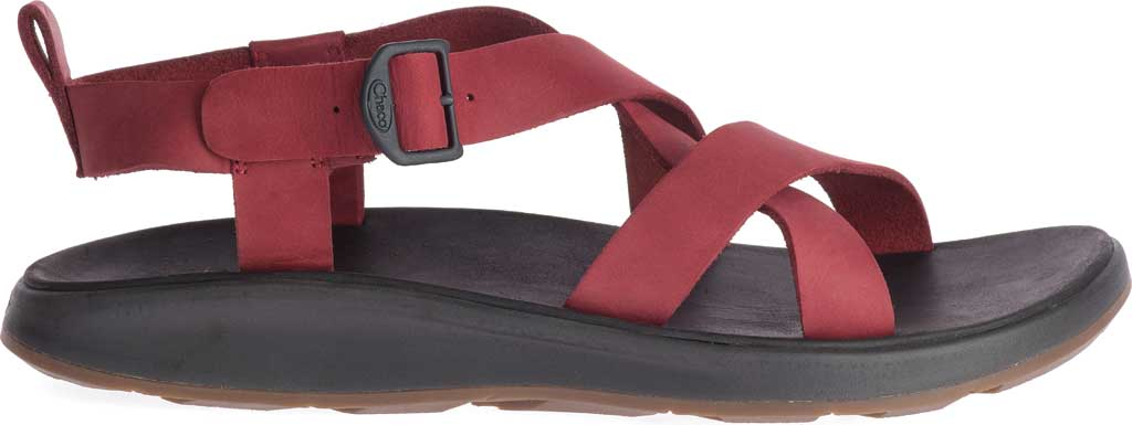 Men's Chaco Wayfarer Leather Sandal, Port Full Grain Leather, large, image 2