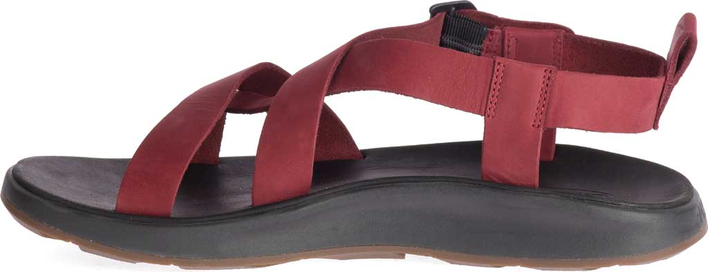 Men's Chaco Wayfarer Leather Sandal, Port Full Grain Leather, large, image 3