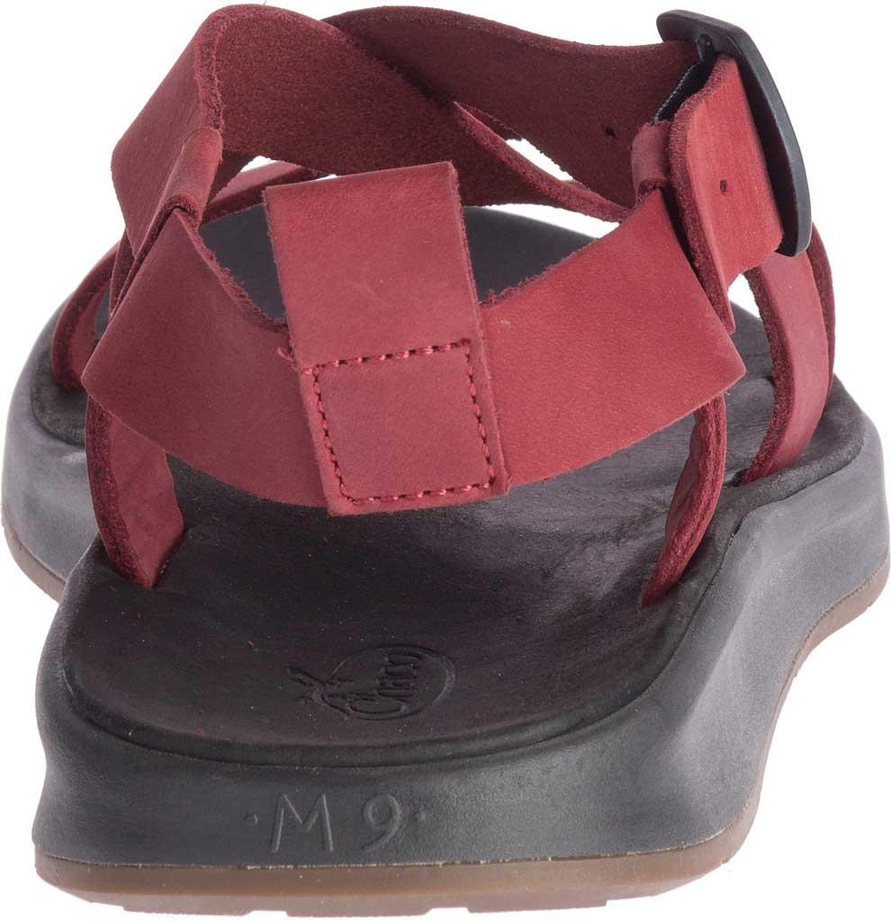 Men's Chaco Wayfarer Leather Sandal, Port Full Grain Leather, large, image 4