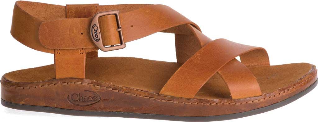 Women's Chaco Wayfarer Leather Sandal, Rust Full Grain Leather, large, image 2