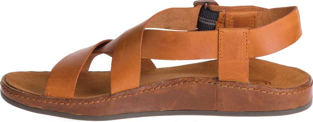 Women's Chaco Wayfarer Leather Sandal, Rust Full Grain Leather, large, image 3