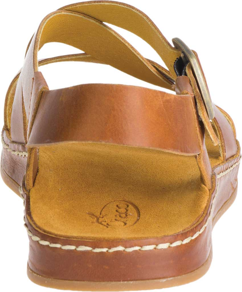 Women's Chaco Wayfarer Leather Sandal, Ochre Full Grain Leather, large, image 4