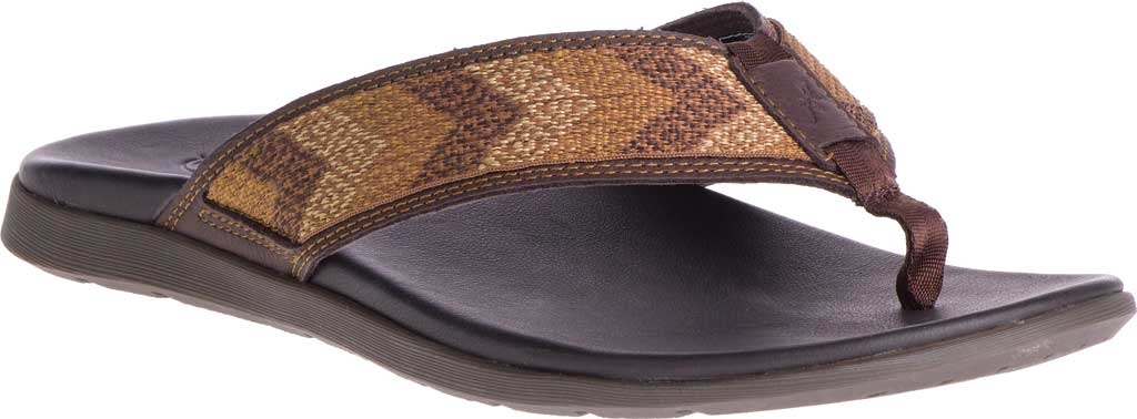Men's Chaco Marshall Thong Sandal, Java Leather, large, image 1