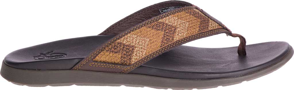 Men's Chaco Marshall Thong Sandal, Java Leather, large, image 2