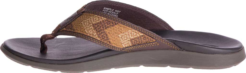 Men's Chaco Marshall Thong Sandal, Java Leather, large, image 3