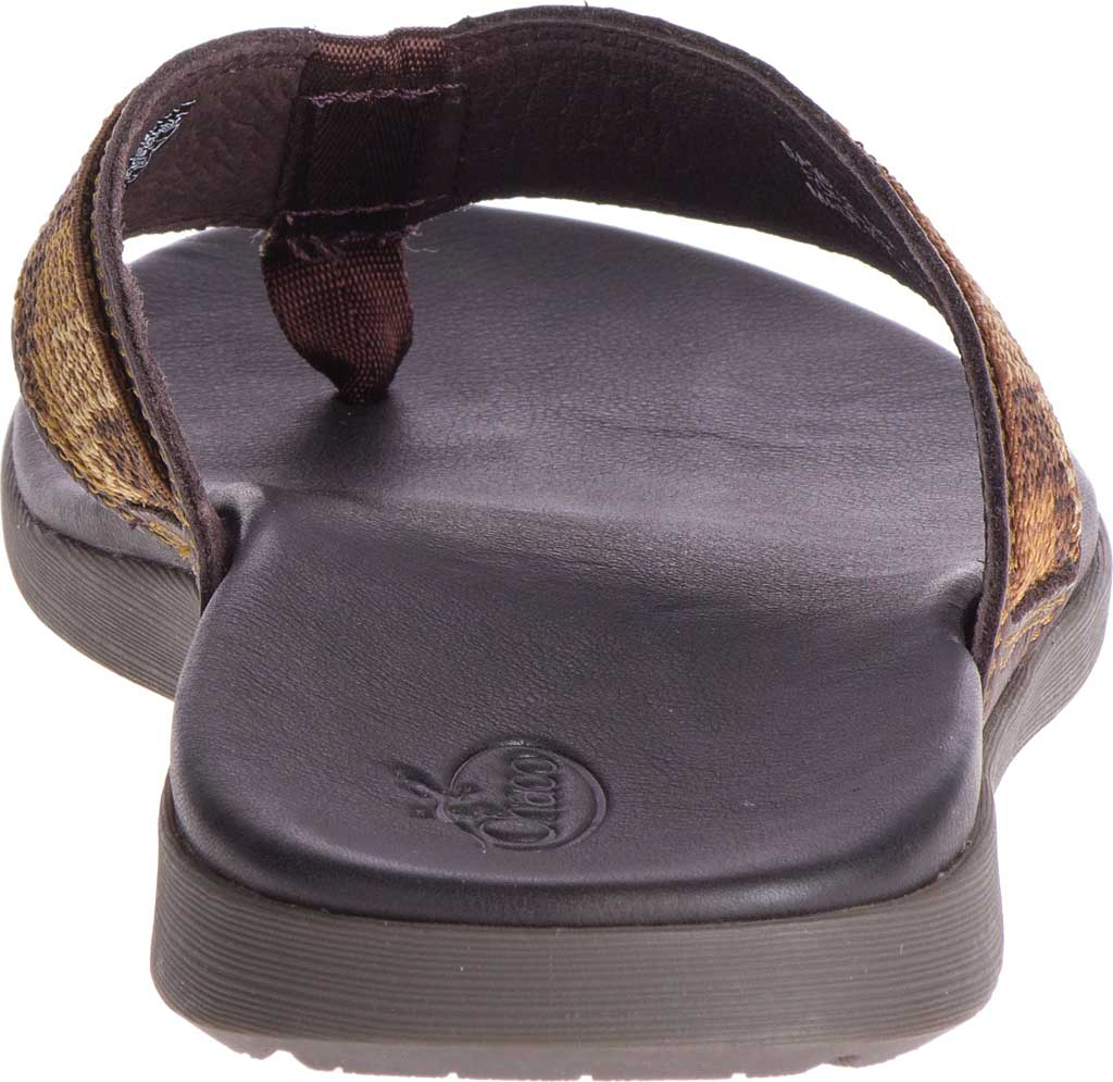 Men's Chaco Marshall Thong Sandal, Java Leather, large, image 4