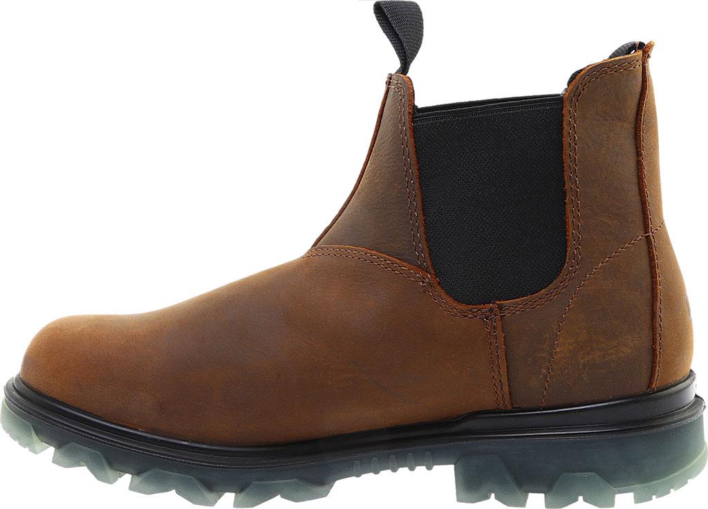 Men's Wolverine I-90 Romeo Soft-Toe Chelsea Boot, Sudan Brown Full Grain Leather, large, image 3