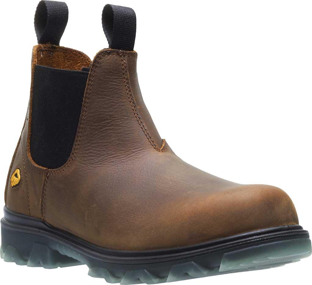 Men's Wolverine I-90 Romeo CarbonMax Toe Chelsea Boot, Sudan Brown Full Grain Leather, large, image 1
