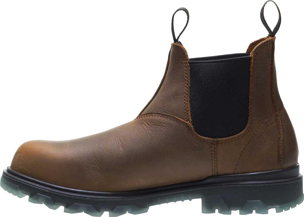 Men's Wolverine I-90 Romeo CarbonMax Toe Chelsea Boot, Sudan Brown Full Grain Leather, large, image 3