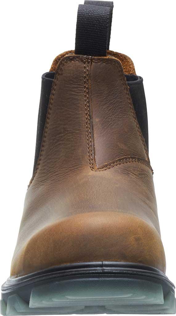 Men's Wolverine I-90 Romeo CarbonMax Toe Chelsea Boot, Sudan Brown Full Grain Leather, large, image 4