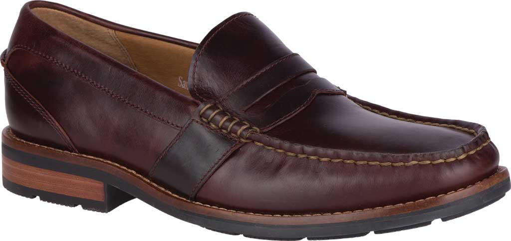 Men's Sperry Top-Sider Essex Penny Loafer, Amaretto Leather, large, image 1