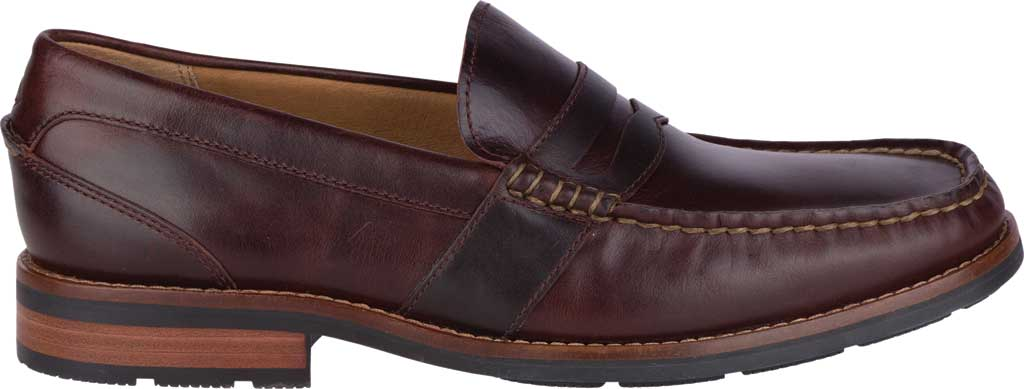 Men's Sperry Top-Sider Essex Penny Loafer, Amaretto Leather, large, image 2