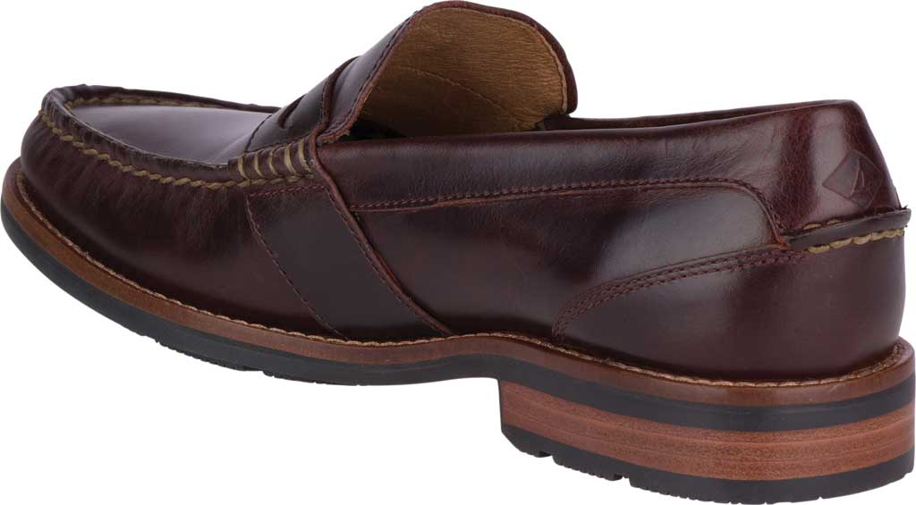Men's Sperry Top-Sider Essex Penny Loafer, Amaretto Leather, large, image 4
