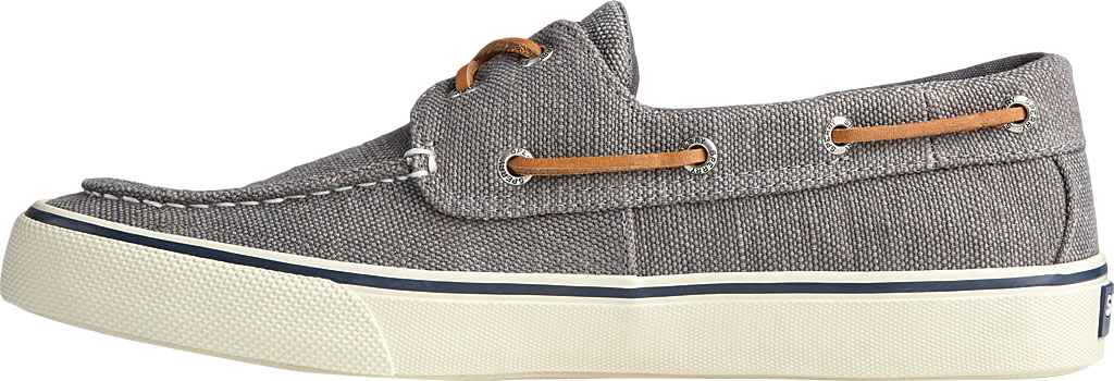 Men's Sperry Top-Sider Bahama II Boat Shoe, Dark Grey Distressed Canvas, large, image 3