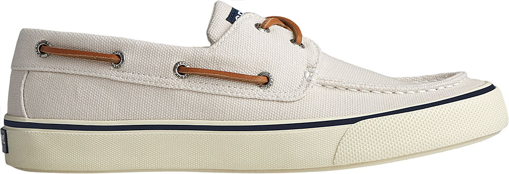 Men's Sperry Top-Sider Bahama II Boat Shoe, Off White Distressed Canvas, large, image 2