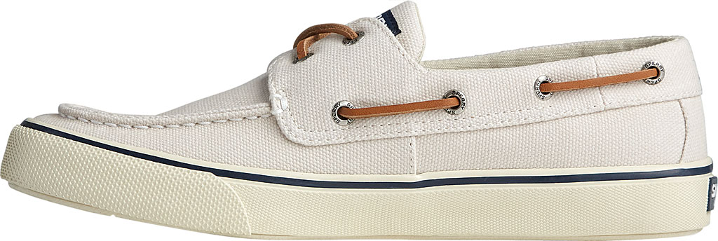Men's Sperry Top-Sider Bahama II Boat Shoe, Off White Distressed Canvas, large, image 3