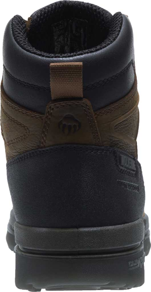 "Men's Wolverine I-90 DuraShocks CarbonMAX 6"" Work Boot, Dark Brown Full Grain Leather, large, image 4"