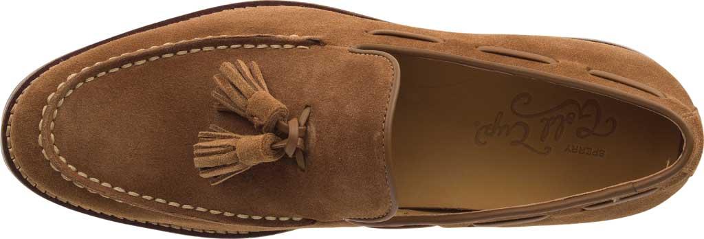 Men's Sperry Top-Sider Gold Exeter Tassel Loafer, Dark Snuff Full Grain Leather, large, image 5