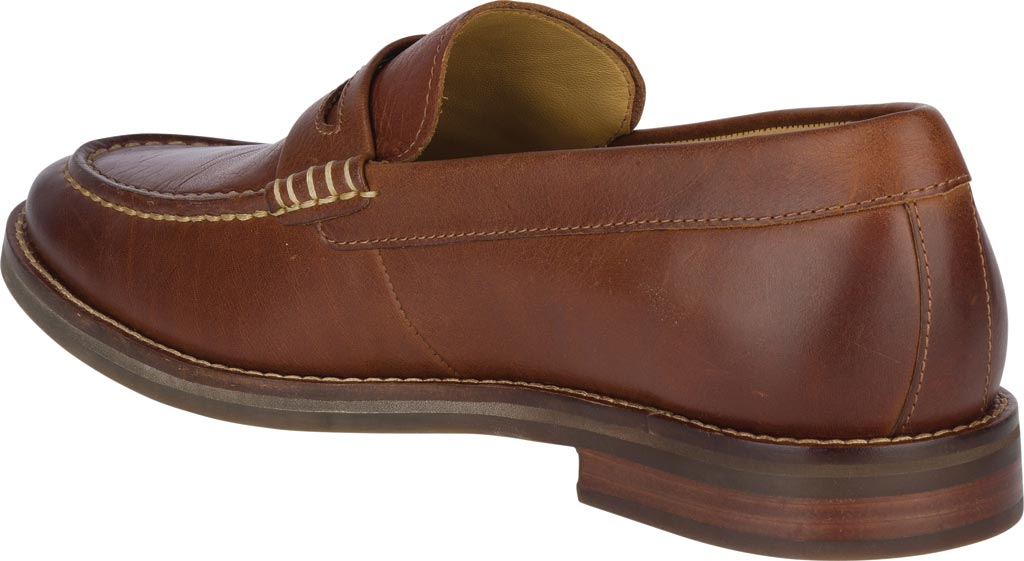 Men's Sperry Top-Sider Gold Exeter Penny Loafer, Tan Leather, large, image 4
