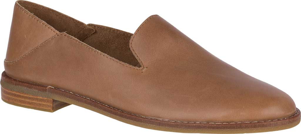 Women's Sperry Top-Sider Seaport Levy Loafer, Tan Leather, large, image 1