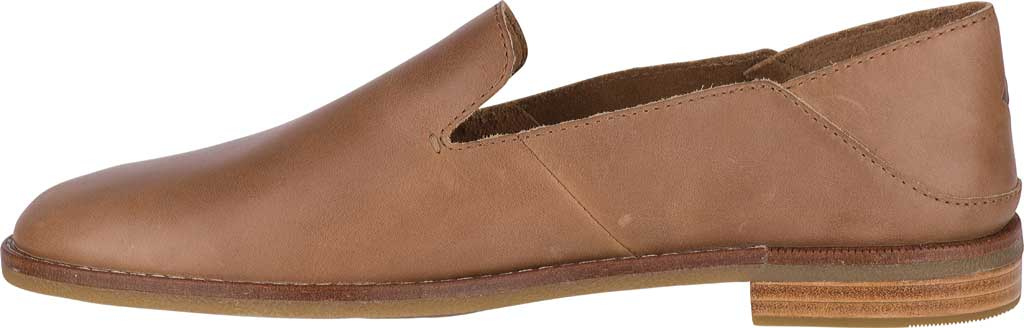 Women's Sperry Top-Sider Seaport Levy Loafer, Tan Leather, large, image 3