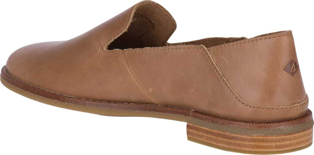 Women's Sperry Top-Sider Seaport Levy Loafer, Tan Leather, large, image 4