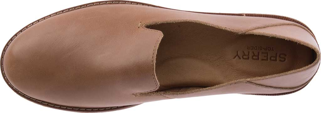 Women's Sperry Top-Sider Seaport Levy Loafer, Tan Leather, large, image 5