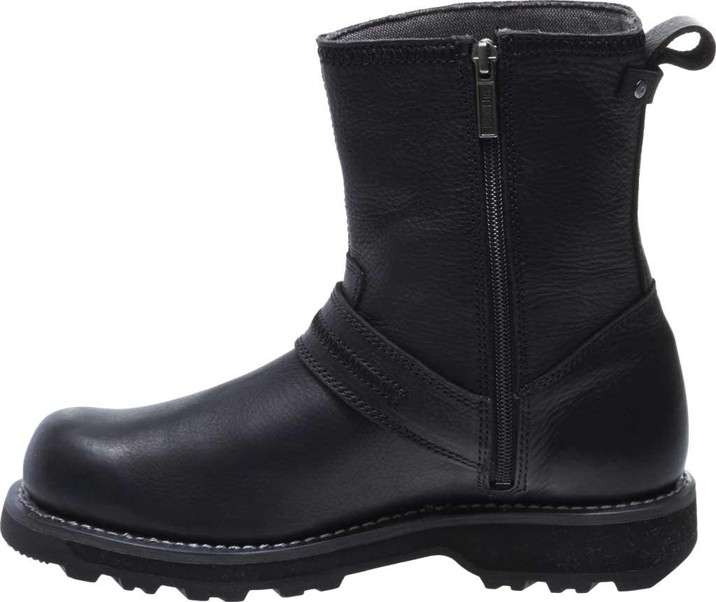 Men's Harley-Davidson Richton Motorcycle Boot, Black Full Grain Leather, large, image 3