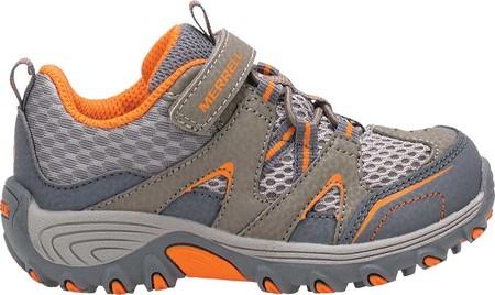 Infant Merrell Trail Chaser Junior Hiking Shoe, Gunsmoke, large, image 2