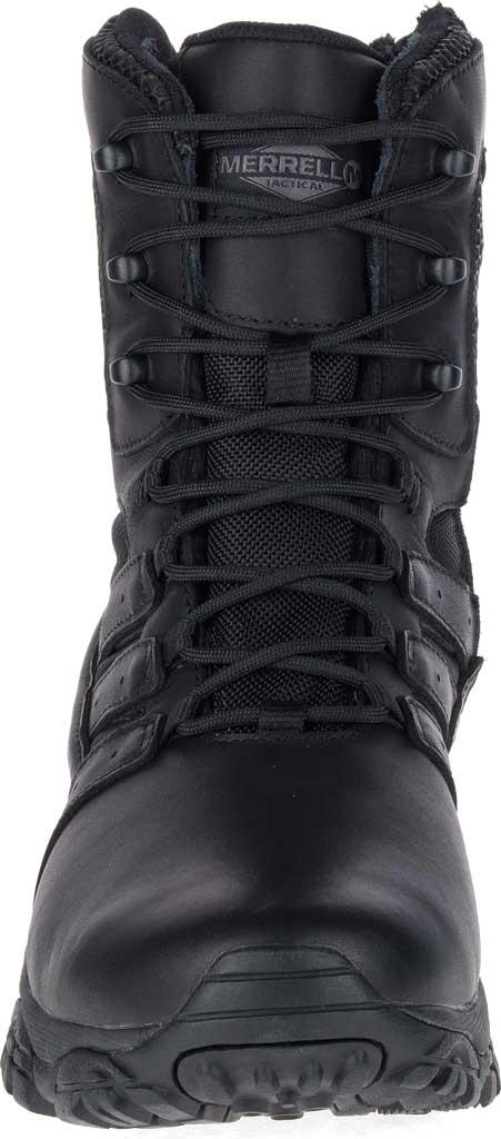 "Men's Merrell Work Moab 2 8"" Response Waterproof Boot, Black Waterproof Leather/Textile, large, image 4"