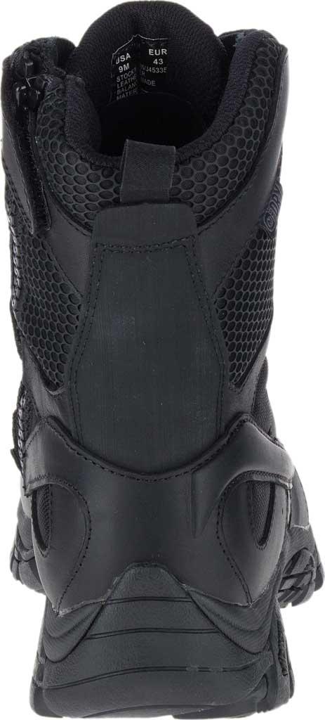 "Men's Merrell Work Moab 2 8"" Response Waterproof Boot, Black Waterproof Leather/Textile, large, image 5"
