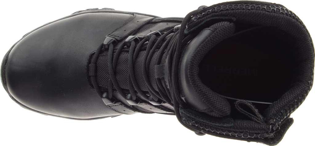 "Men's Merrell Work Moab 2 8"" Response Waterproof Boot, Black Waterproof Leather/Textile, large, image 6"