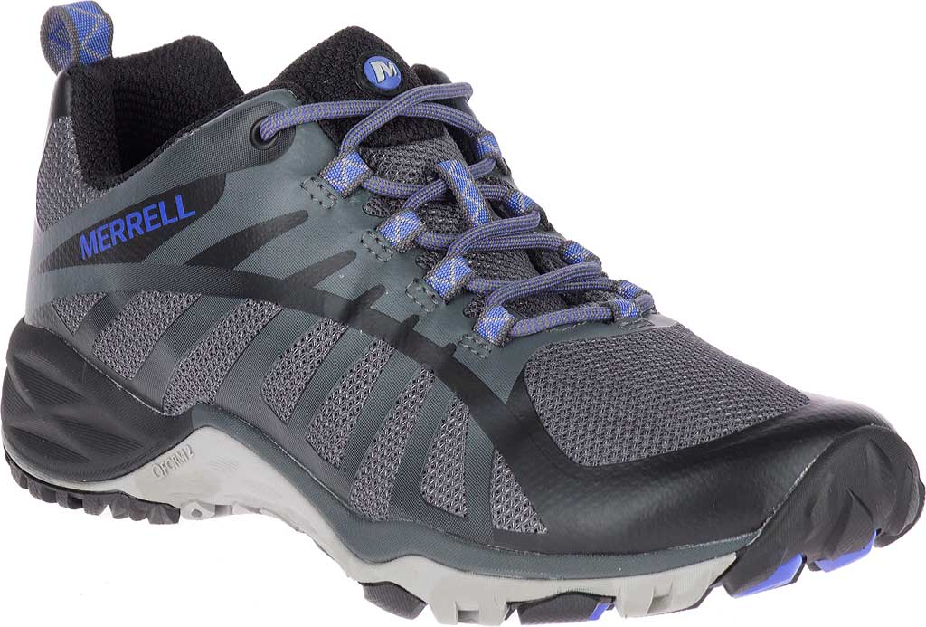 Women's Merrell Siren Edge Q2 Light Hiking Shoe, Black Mesh/Synthetic, large, image 1