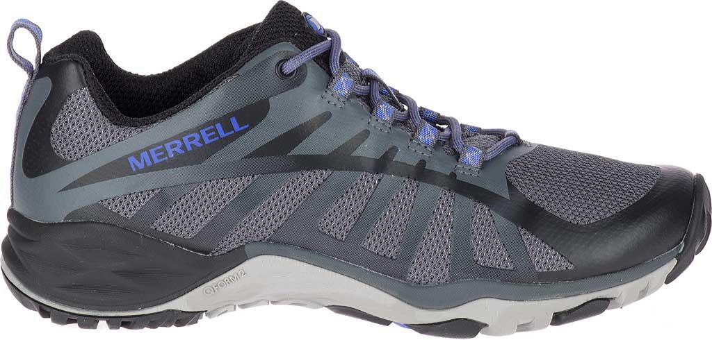 Women's Merrell Siren Edge Q2 Light Hiking Shoe, Black Mesh/Synthetic, large, image 2