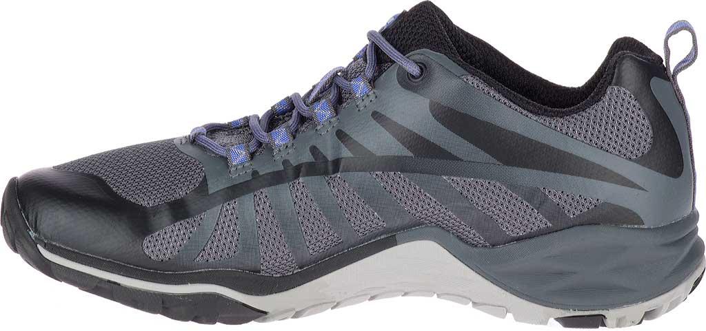 Women's Merrell Siren Edge Q2 Light Hiking Shoe, Black Mesh/Synthetic, large, image 3