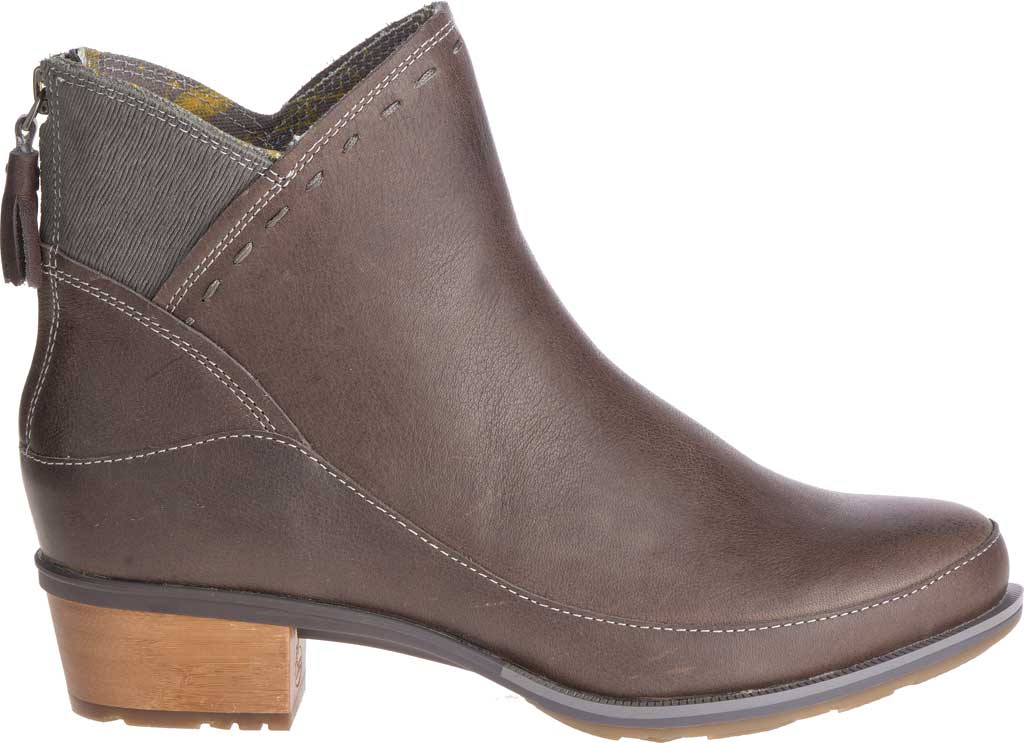 Women's Chaco Cataluna Mid Boot, Taupe Full Grain Leather, large, image 2