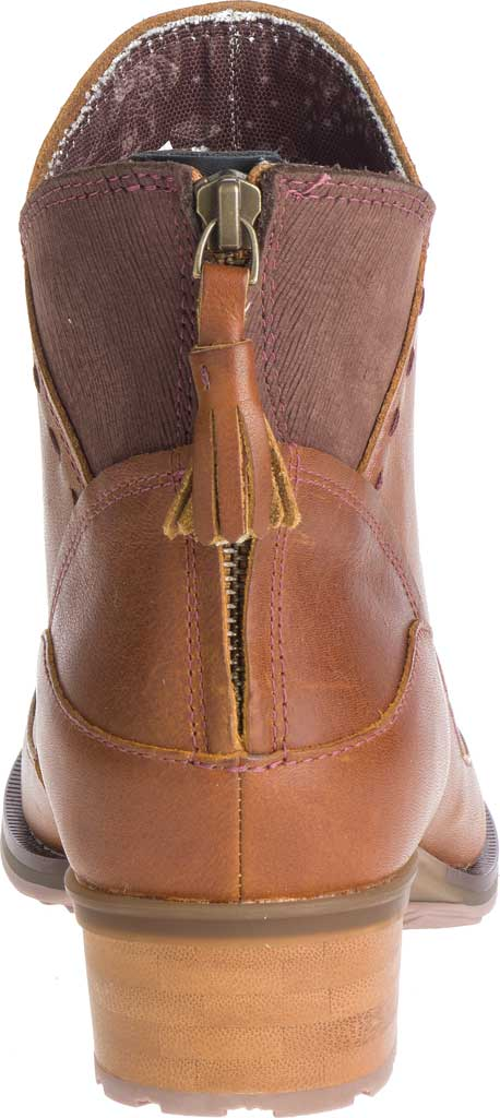Women's Chaco Cataluna Mid Boot, Ochre Full Grain Leather, large, image 4