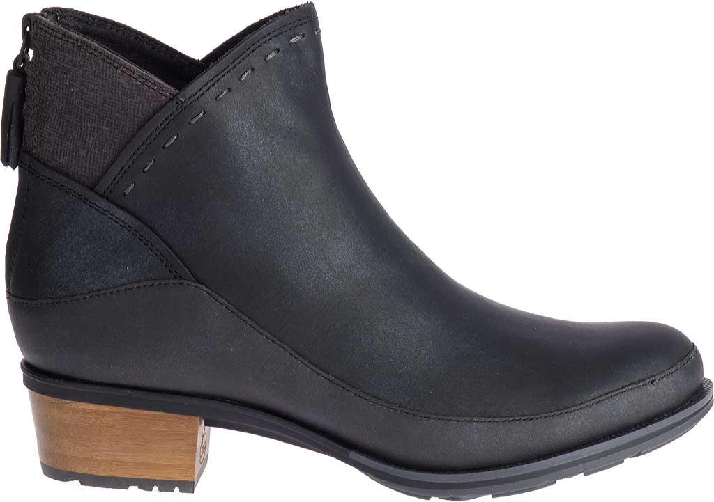 Women's Chaco Cataluna Mid Boot, Black Full Grain Leather, large, image 2