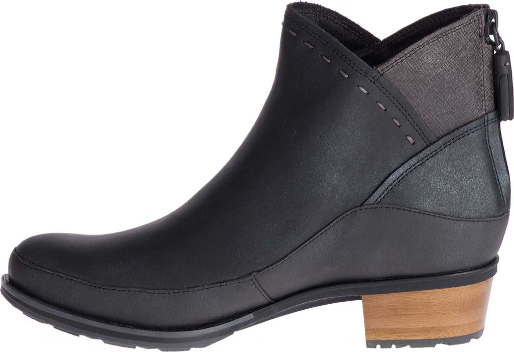 Women's Chaco Cataluna Mid Boot, Black Full Grain Leather, large, image 3