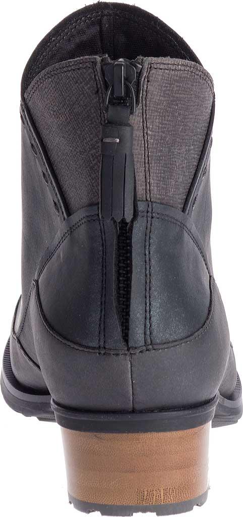 Women's Chaco Cataluna Mid Boot, Black Full Grain Leather, large, image 4