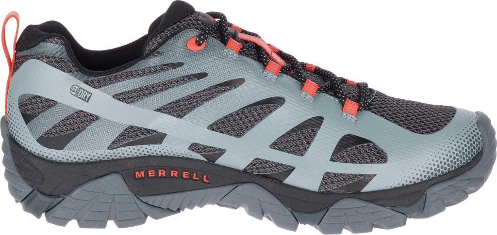 Men's Merrell Moab Edge 2 Waterproof Sneaker, Monument Mesh/Polyurethane, large, image 2