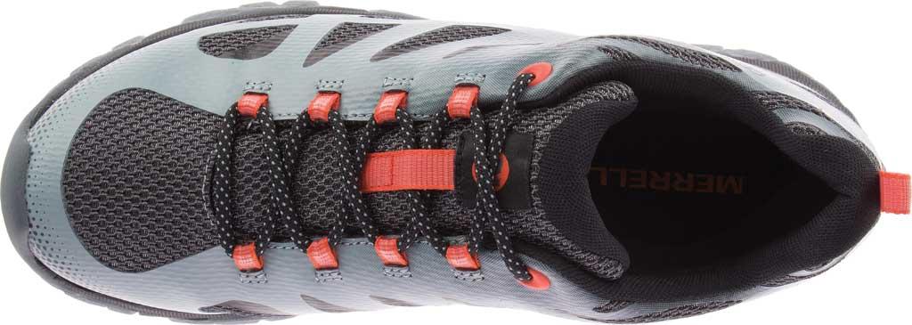 Men's Merrell Moab Edge 2 Waterproof Sneaker, Monument Mesh/Polyurethane, large, image 5
