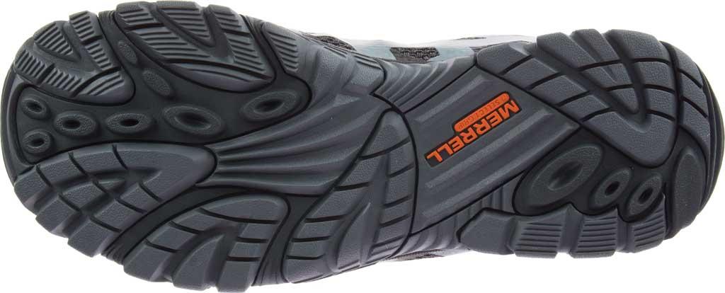 Men's Merrell Moab Edge 2 Waterproof Sneaker, Monument Mesh/Polyurethane, large, image 6