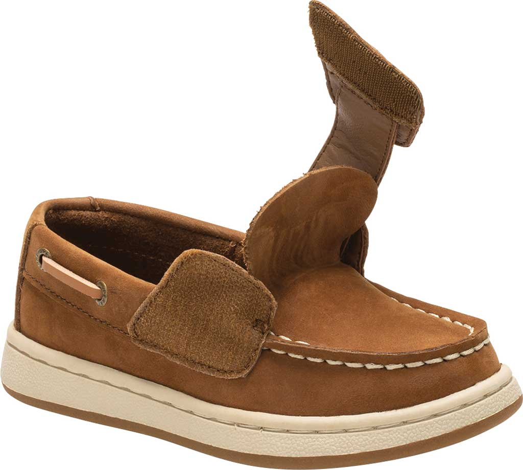 Infant Boys' Sperry Top-Sider Sperry Cup II Boat Shoe, Brown Leather, large, image 2